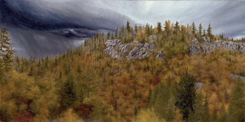 Print of Upper Autumn by Joshua Moore image 0
