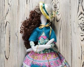 Tilda Doll Tilda Rag doll Interior doll Cloth doll Decorative doll Ragdoll Primitive doll Home decor doll Fabric doll Collectible doll