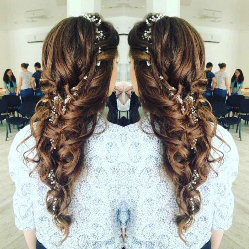 Image result for long delicate layers wedding hairstyle
