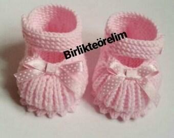 Pink Booties