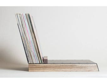 Vinyl Record Storage Display Lp Stand Shelf Holder Rack