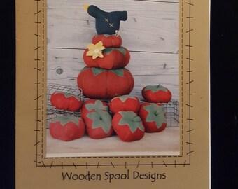 "Wooden Spool Designs ""Vine Ripe"" Pincushion Pattern"