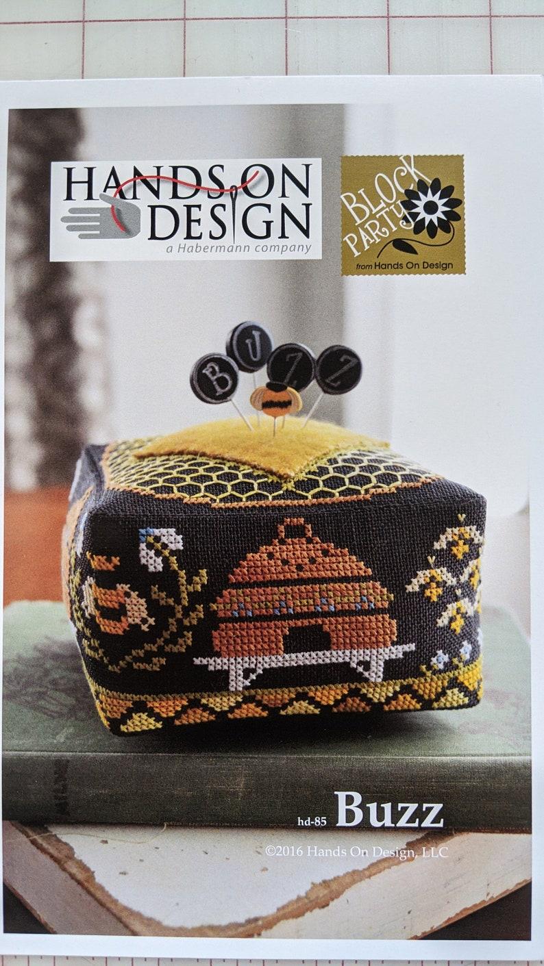 Buzz Hands On Design Block Party Pincushion hd85
