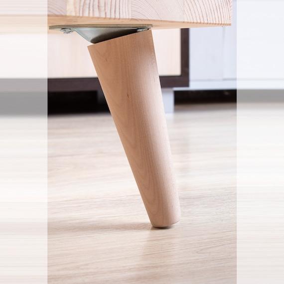 Furniture Legs Feet Set Of 4, Midcentury Furniture Legs