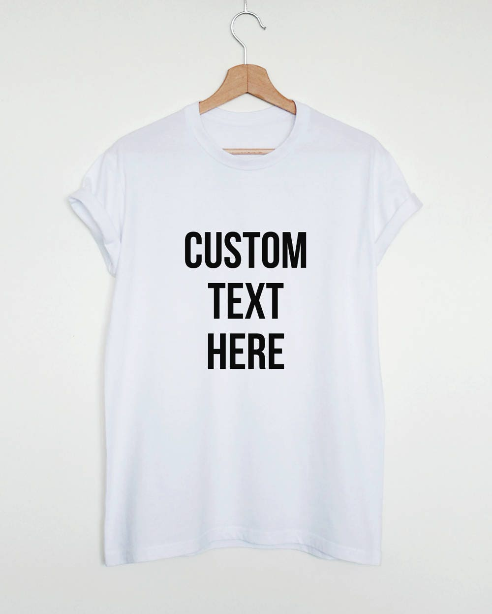 Custom Design T Shirt Create Your Own Shirt Custom Made Etsy