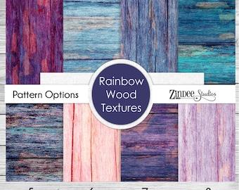 Wood Texture Pattern Vinyl HEAT TRANSFER or ADHESIVE, Printed Vinyl Printed HTv