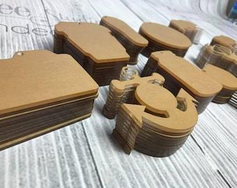 Acrylic KeyChain Blanks SET OF 10 , CLEAR Acrylic blanks, Acrylics for vinyl, Keychains for vinyl, Vinyl Blanks, Blanks for vinyl