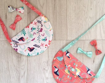 Toddler hand bag, man bag, Children purse, role play, lovelilmo