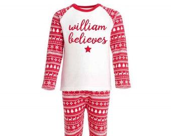 Personalised Christmas Pyjamas 07853f521