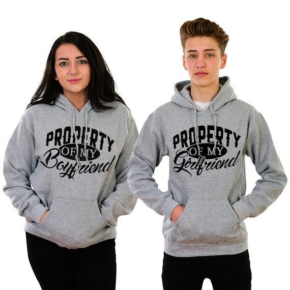 Boyfriend Girlfriend Hoodies Sweatshirt Shirt Matching Hoodie Etsy