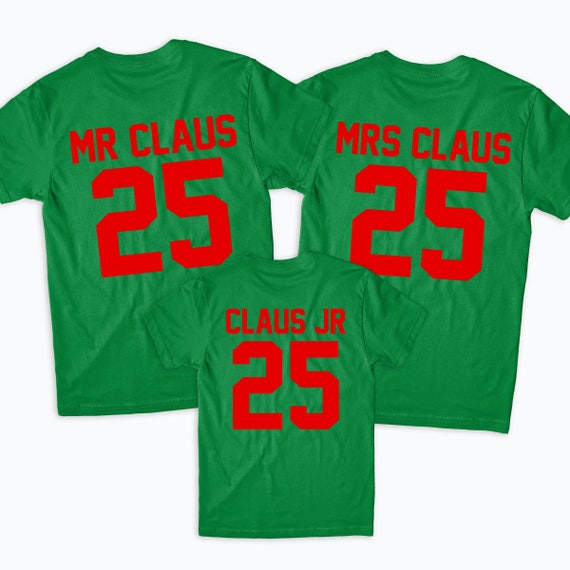 Claus I Know Him Christmas Gift Kids Boys Girls Unisex Top T-Shirt 506 SANTA