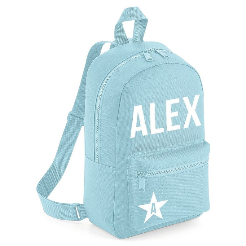 bb741d95a0 Personalised Name Backpack with ANY NAME Star Kids Children