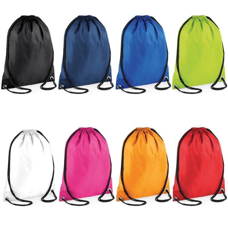 642af8e73a Licorne personnalisé Drawstring SAC filles PE sac scolaire sac | Etsy