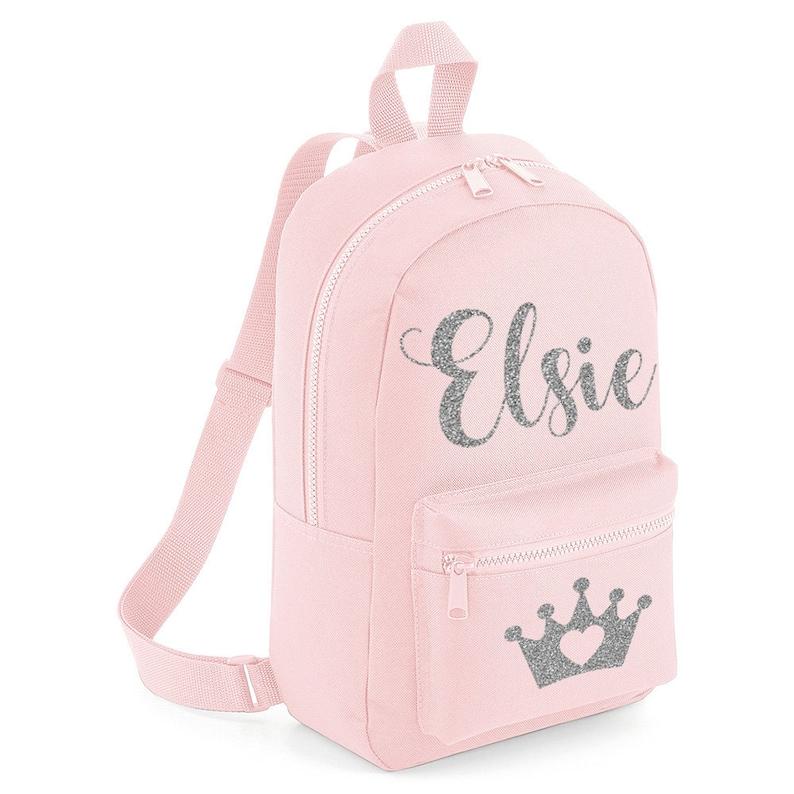 f9cf84ae233 Crown Mini Unicorn rugzak gepersonaliseerd met om het even | Etsy