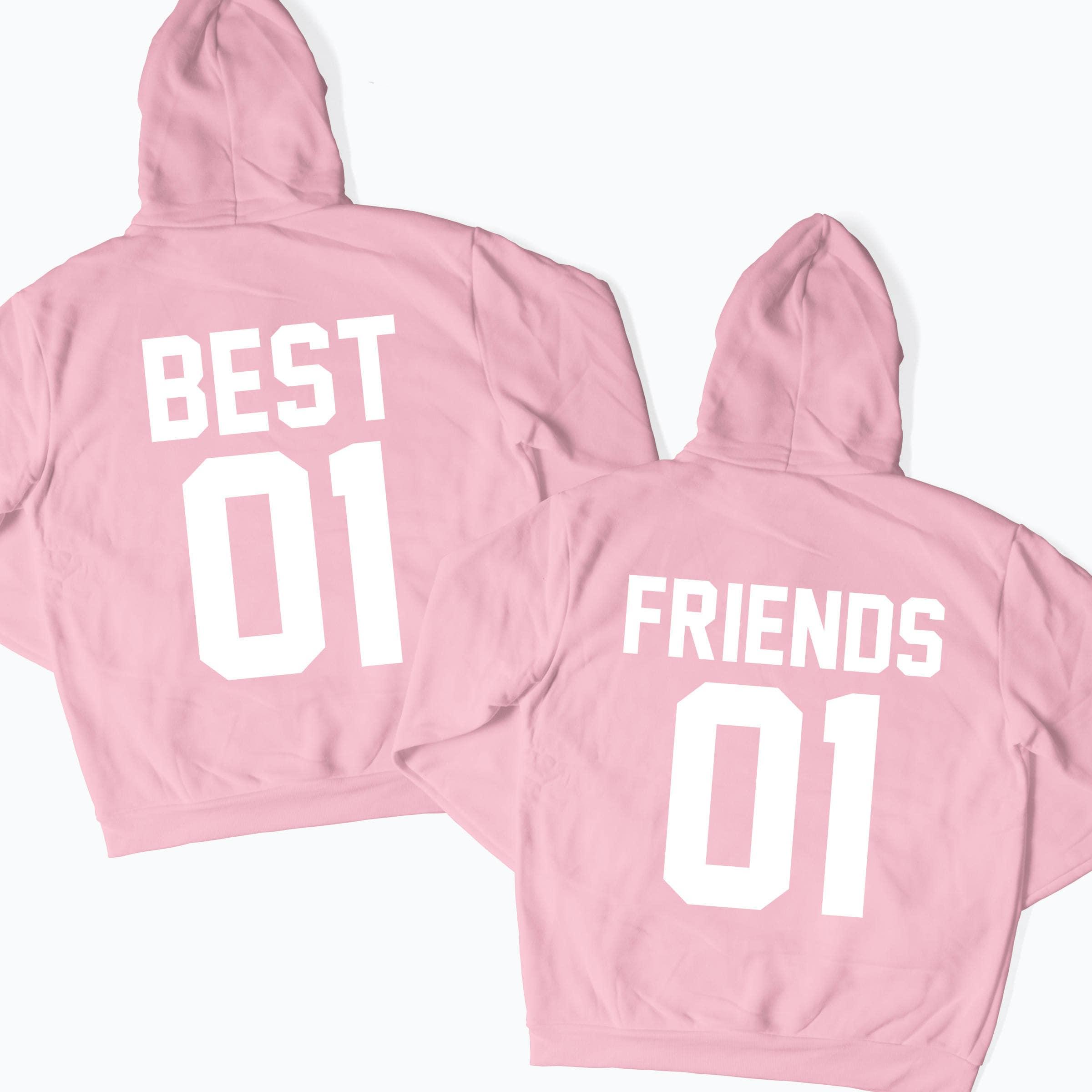 Best Friends Matching Hoodies Matching Couple Shirts Matching Etsy