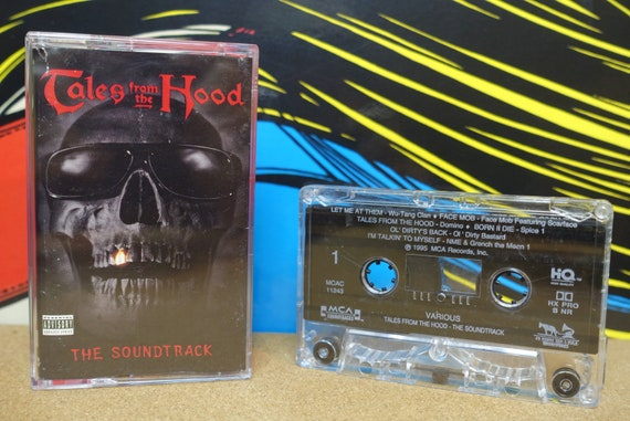 Tales From The Hood - Cassette Tape The Soundtrack Featuring Wu Tang Clan - 1995 MCA Records Vintage Analog Hip Hop Rap Music