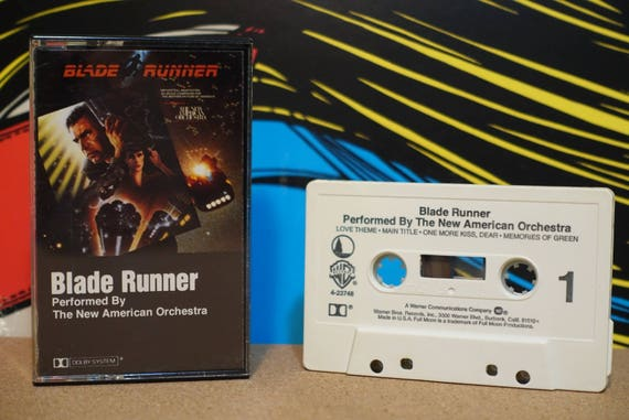 Blade Runner (Music From The Original Motion Picture Soundtrack) by The New American Orchestra Vintage Cassette Tape