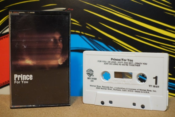 For You by Prince Vintage Cassette Tape