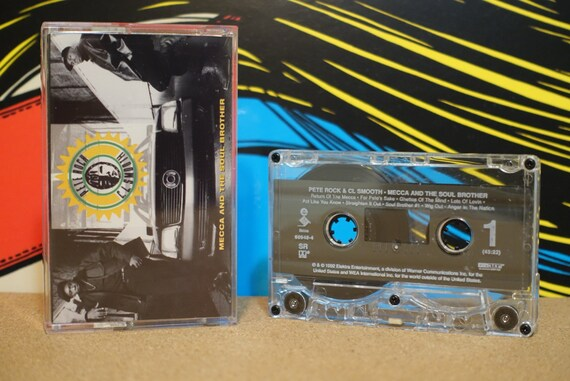 Mecca And The Soul Brother by Pete Rock & C.L. Smooth Vintage Cassette Tape