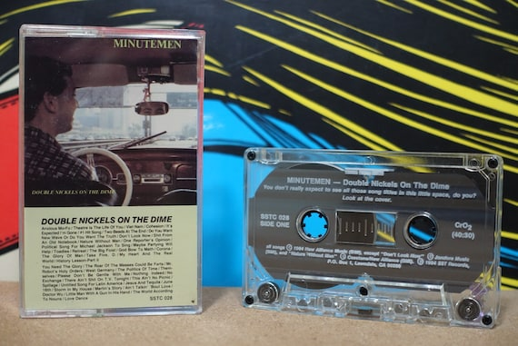 Double Nickels On The Dime by Minutemen Vintage Cassette Tape