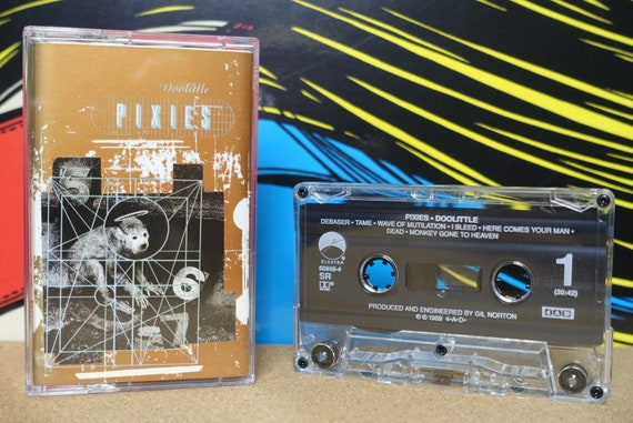 Pixies Doolittle Cassette Tape - 1989 Elektra Records Vintage Analog Music