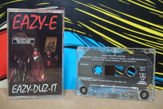 Eazy-Duz-It by Eazy-E Vintage Cassette Tape