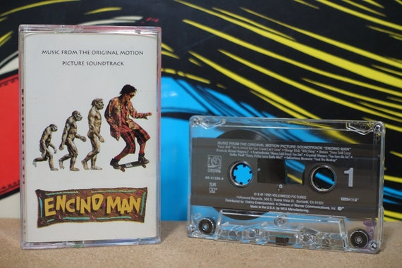Encino Man (Music From The Original Motion Picture Soundtrack) by Various Artists Vintage Cassette Tape