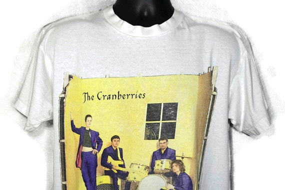 Vintage Original 90s 1995 RARE The Cranberries - To The Faithful Departed - Free to Decide World Tour - 2-Sided Vintage Concert T-Shirt