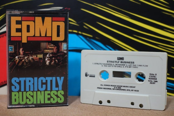 Strictly Business by EPMD Vintage Cassette Tape