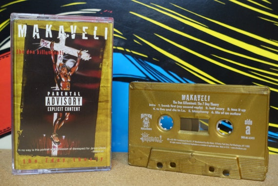 Makaveli 2Pac Cassette Tape - The Don Killuminati (The 7 Day Theory) 2021 Re-issue Death Row Records Analog Music