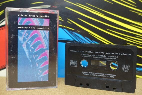 NIN Nine Inch Nails - Pretty Hate Machine Cassette Tape - 1989 TVT Records - Vintage Analog Music