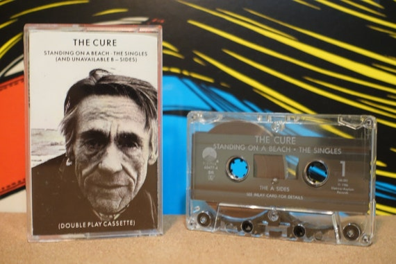 Standing On A Beach • The Singles (And Unavailable B-Sides) by The Cure Vintage Cassette Tape