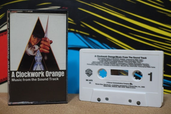 Stanley Kubrick's A Clockwork Orange by Various Artists Vintage Cassette Tape