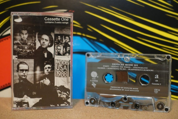 101 by Depeche Mode Vintage Cassette Tapes (2 Tapes)