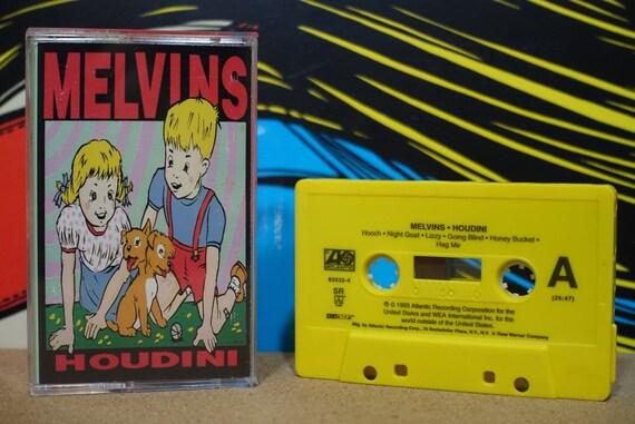 Melvins - Houdini Cassette Tape - 1993 Atlantic Records - Vintage Analog Music