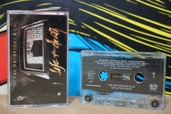 Life After Death by The Notorious B.I.G. Vintage Cassette Tape