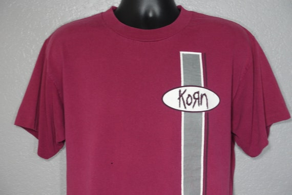 1996 Korn - Life is Peachy Era - Double Sided Concert Vintage T-Shirt