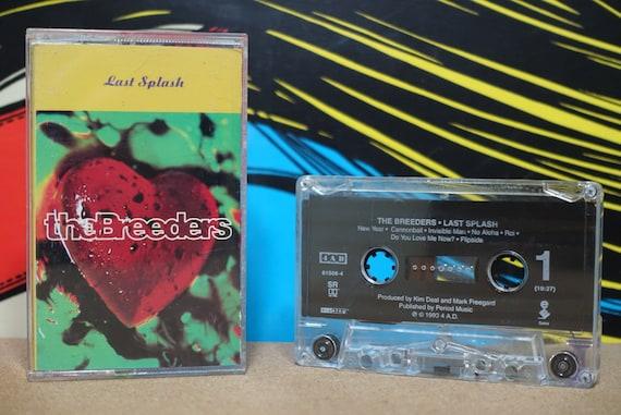 Last Splash by The Breeders Vintage Cassette Tape