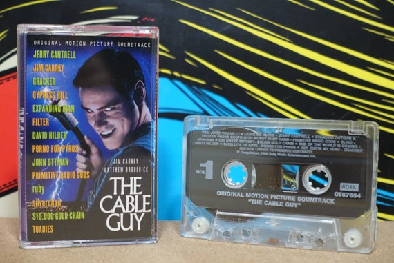 The Cable Guy (Original Motion Picture Soundtrack) by Various Artists Vintage Cassette Tape
