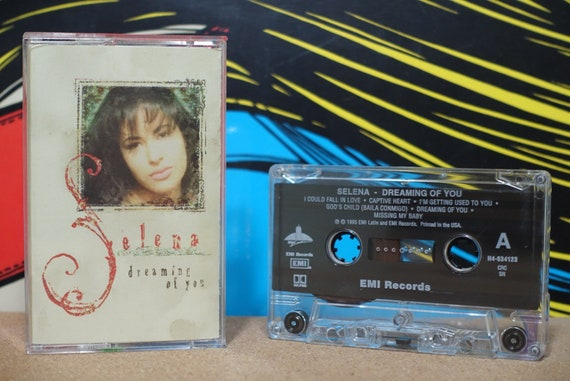 Dreaming Of You by Selena Vintage Cassette Tape