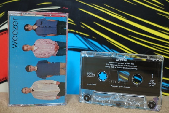 Weezer by Weezer Vintage Cassette Tape