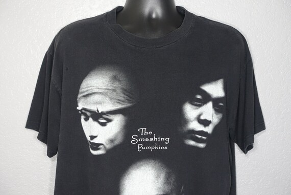 1998 Smashing Pumpkins - '98 Adore Tour Double Sided Giant Branded Vintage Concert T-Shirt