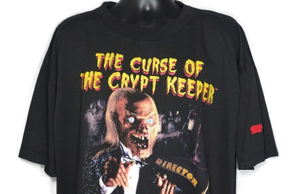 1995 RARE Tales From The Crypt - Curse of Crypt Keeper - Halloween Horror Nights V - Universal Studios Florida Cult TV Show Vintage T-Shirt