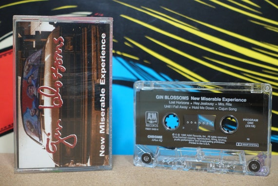 New Miserable Experience by Gin Blossoms Vintage Cassette Tape