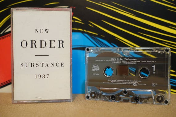Substance by New Order Vintage Cassette Tape