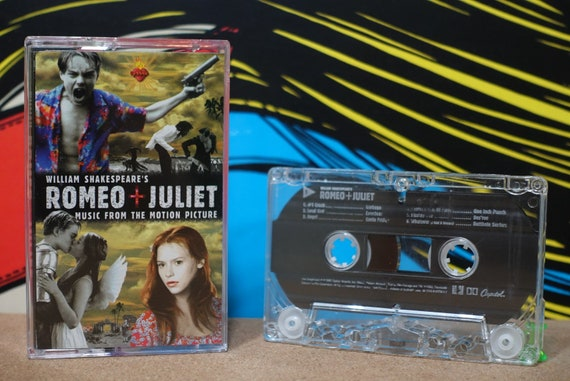 William Shakespeare's Romeo + Juliet (Music From The Motion Picture) by Various Artists Vintage Cassette Tape