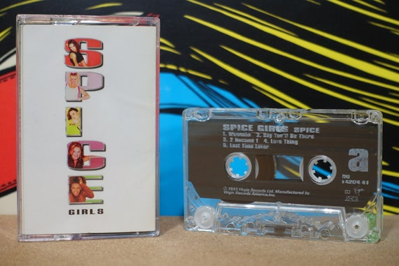 Spice Girls - Spice Cassette Tape - 1997 Virgin Records Records - Vintage Analog Music