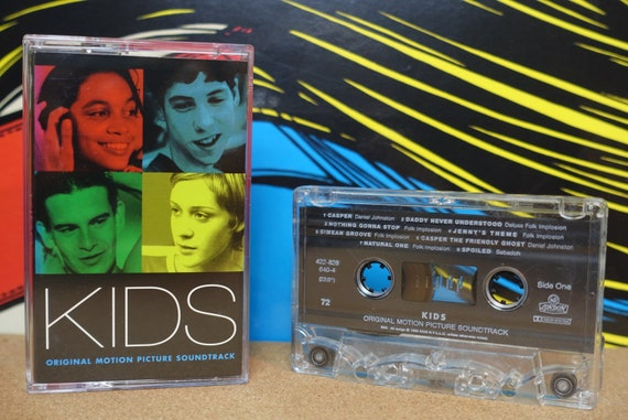 Kids (Original Motion Picture Soundtrack) by Various Artists Vintage Cassette Tape