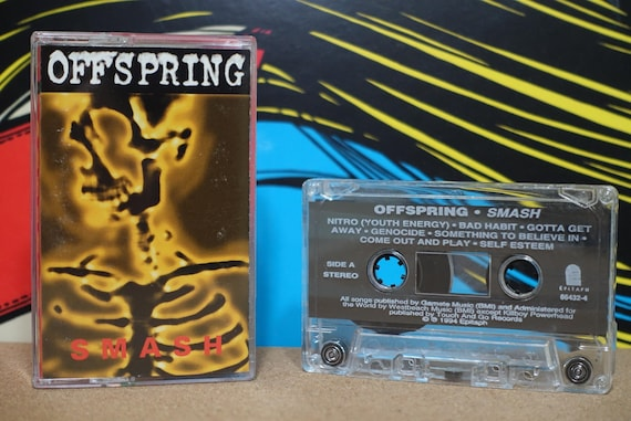 Smash by Offspring Vintage Cassette Tape