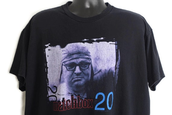 1997 Matchbox 20 Vintage T Shirt - Yourself Or Someone Like You Rob Thomas 2-Sided Original 90s Band Tee Concert T-Shirt